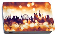 London England Skyline Portable Battery Charger by Michael Tompsett