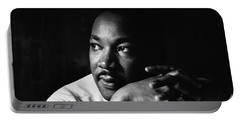 39- Martin Luther King Jr. Portable Battery Charger by Joseph Keane