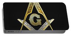 3rd Degree Mason - Master Mason Masonic Jewel  Portable Battery Charger