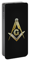 3rd Degree Mason - Master Mason Masonic Jewel  Portable Battery Charger