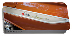 1961 Chevrolet Impala Ss  Portable Battery Charger by Rich Franco