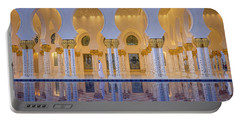Portable Battery Charger featuring the photograph Abu Dhabi by Milena Boeva