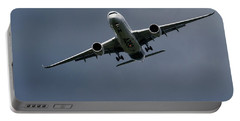 Airbus A350 Portable Battery Charger by Shirley Mitchell