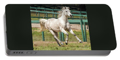 Arabian Horse Running Portable Battery Charger
