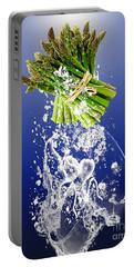 Asparagus Splash Portable Battery Charger