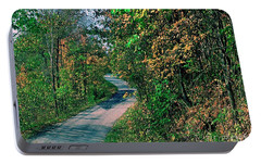 Portable Battery Charger featuring the photograph Autumn Colors by Gary Wonning