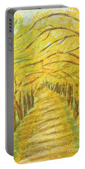 Autumn Landscape, Painting Portable Battery Charger
