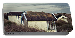 Beach Houses And Dunes Portable Battery Charger