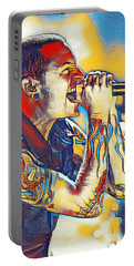 Chester Bennington Portable Battery Charger