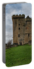 Portable Battery Charger featuring the photograph Clackmannan Tower by Jeremy Lavender Photography