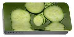 Cool As A Cucumber Slices Portable Battery Charger