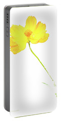 Cosmos Flower Portable Battery Charger