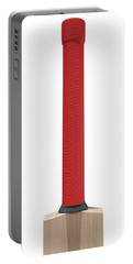 Cricket Bat Portable Battery Charger by Allan Swart