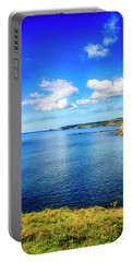 End Of The World - Cornwall Portable Battery Charger by Chris Smith