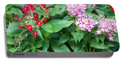 Flowers Portable Battery Charger by Rob Hans
