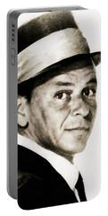 Frank Sinatra, Vintage Hollywood Legend Portable Battery Charger