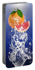 Grapefruit Splash Portable Battery Charger
