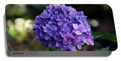 Hydrangea Portable Battery Charger by Yumi Johnson