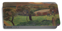 Landscape From Bretagne Portable Battery Charger