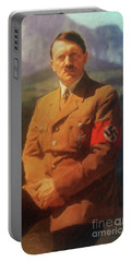 Leaders Of Wwii - Adolf Hitler Portable Battery Charger