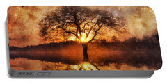 Lone Tree Portable Battery Charger by Ian Mitchell