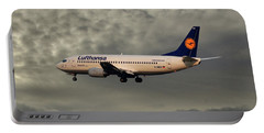 Lufthansa Boeing 737-300 Portable Battery Charger