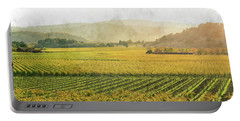 Napa Valley California In Autumn Portable Battery Charger