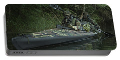 Navy Seals Navigate The Waters Portable Battery Charger