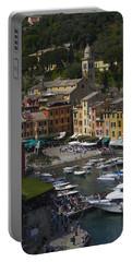 Portofino In The Italian Riviera In Liguria Italy Portable Battery Charger