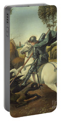 Saint George And The Dragon Portable Battery Charger