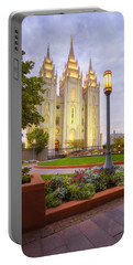 Salt Lake Temple Portable Battery Charger