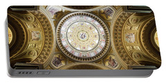 St Stephen Basilica Interior In Budapest Portable Battery Charger