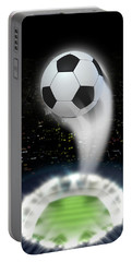 Stadium Night With Ball Swoosh Portable Battery Charger