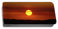 Portable Battery Charger featuring the photograph 4- Sunset by Joseph Keane