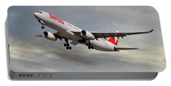 Swiss Airbus A330-343 Portable Battery Charger