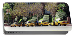 4 Taxis In The City Portable Battery Charger