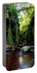 The Devil Pulpit At Finnich Glen Portable Battery Charger