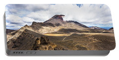 Tongariro Alpine Crossing In New Zealand Portable Battery Charger