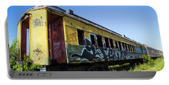 Train Art Portable Battery Charger