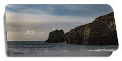 Portable Battery Charger featuring the photograph Trevellas Cove Cornwall by Brian Roscorla