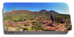 Portable Battery Charger featuring the photograph Wilpena Pound by Bill Robinson