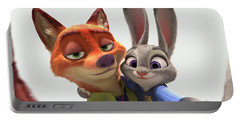 Zootopia Portable Battery Charger