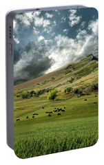 Portable Battery Charger featuring the photograph 4235 by Peter Holme III
