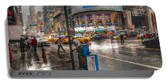 42nd Street Portable Battery Charger by David Bearden
