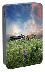 Portable Battery Charger featuring the photograph 4376 by Peter Holme III
