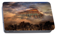 Portable Battery Charger featuring the photograph 4381 by Peter Holme III