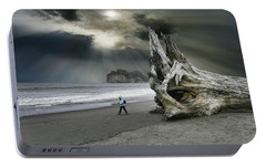 Portable Battery Charger featuring the photograph 4392 by Peter Holme III
