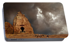 Portable Battery Charger featuring the photograph 4398 by Peter Holme III