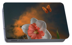 Portable Battery Charger featuring the photograph 4413 by Peter Holme III