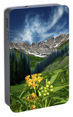 Portable Battery Charger featuring the photograph 4415 by Peter Holme III